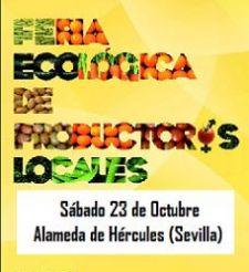 3ª Feria Ecológica de Productores Locales en Sevilla