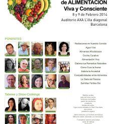 4º Congreso de alimentación VIVA Y CONSCIENTE, 8 y 9 de febrero en Barcelona