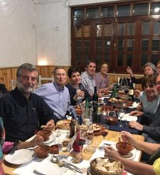 Encuentro mensual en el restaurante km0 Gaia