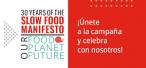 Celebramos el 30 aniversario del Manifiesto Slow Food